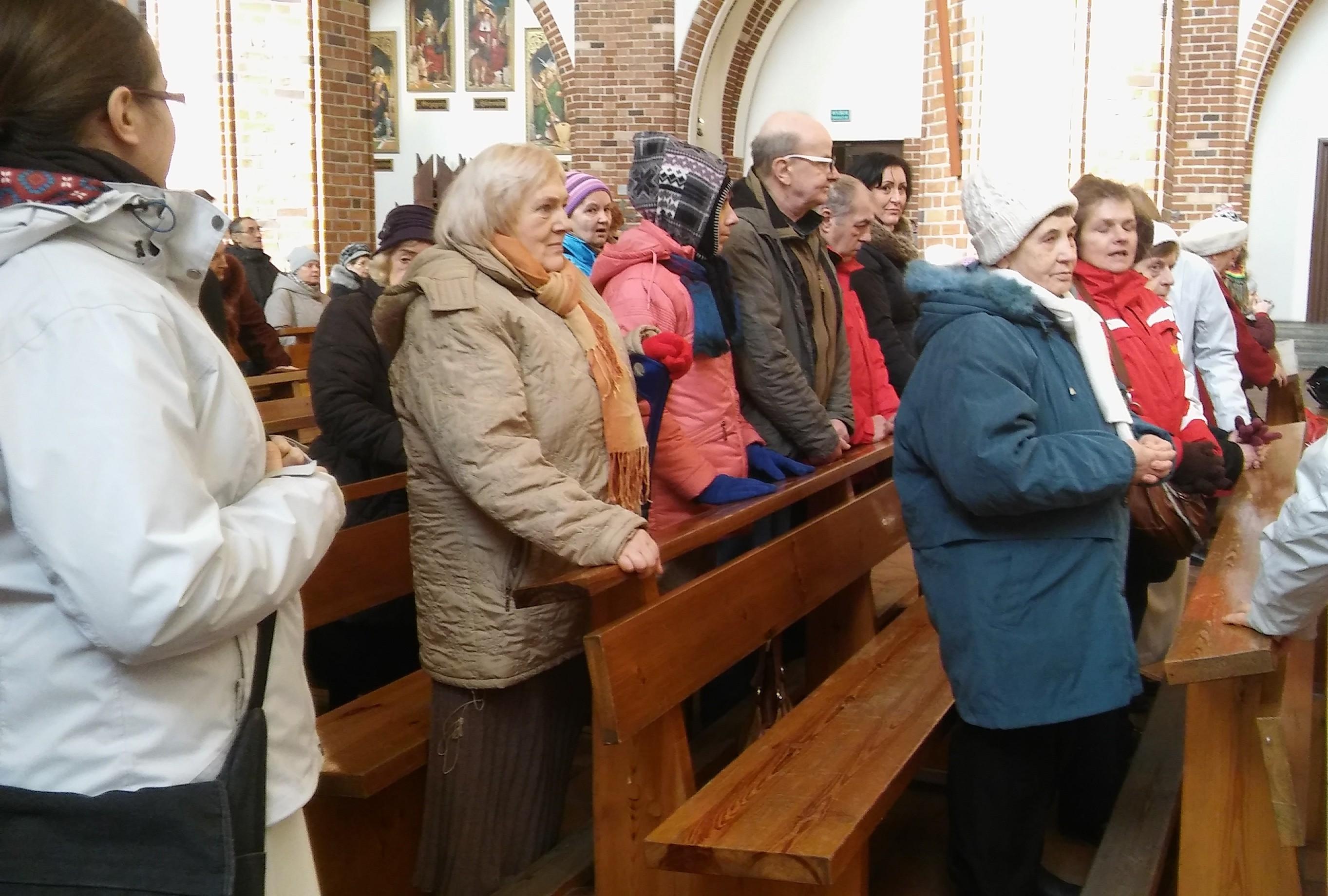 2017.02.11 Światowy dzień chorego - Msza Święta w katedrze