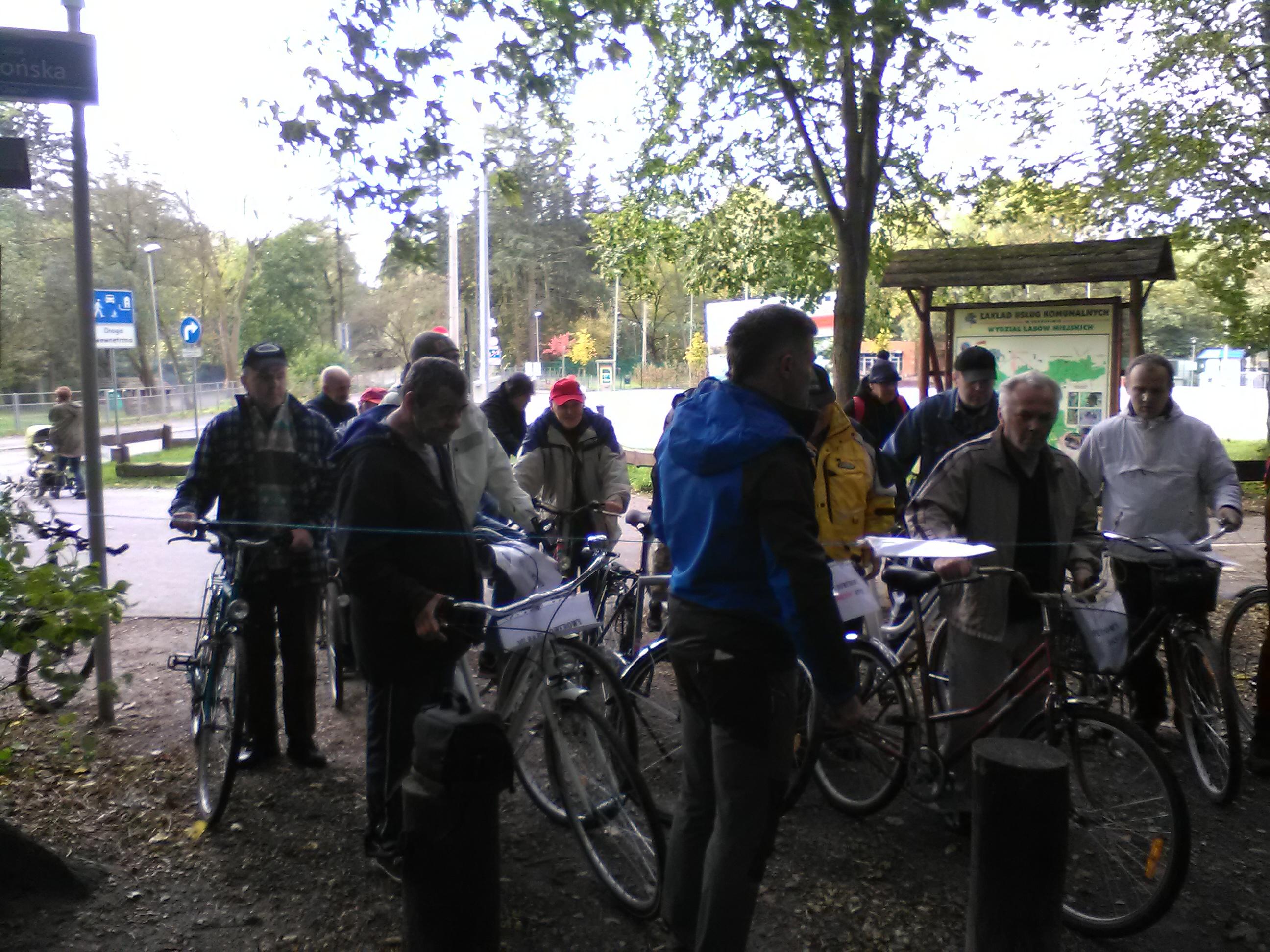 2017.10.12 - VII Rajd rowerowy z Bronkiem 1