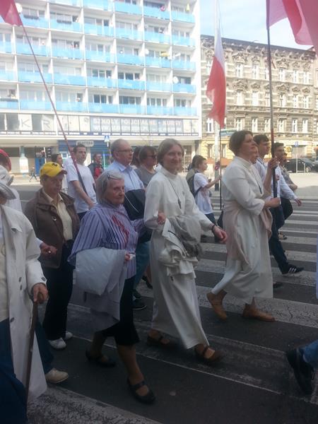 Grupa mieszkańców wzięła udział w Marszu dla Życia (7)