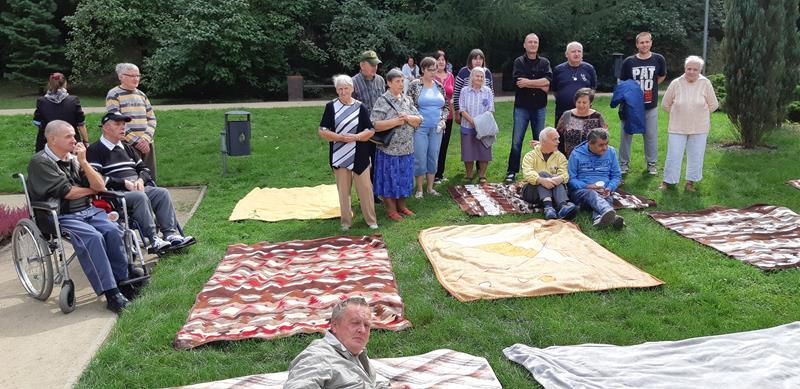 Integracyjny piknik z Mieszkańcami z DPS przy ul. Broniewskiego (45)