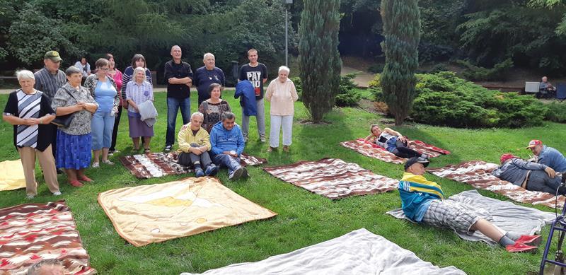 Integracyjny piknik z Mieszkańcami z DPS przy ul. Broniewskiego (47)