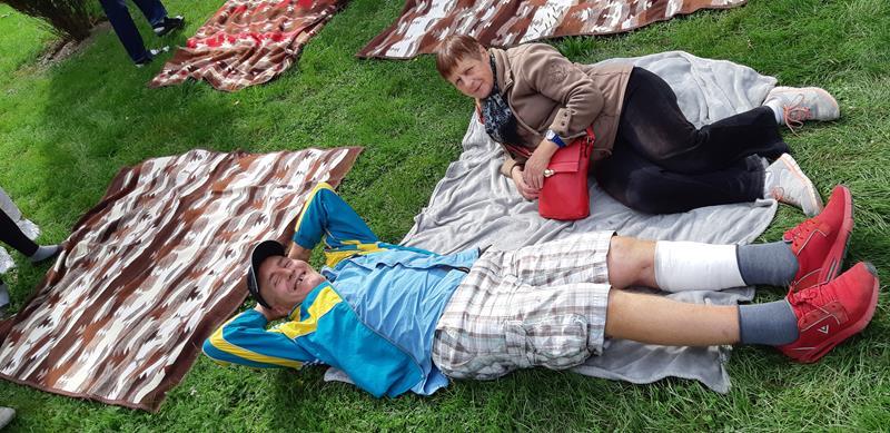 Integracyjny piknik z Mieszkańcami z DPS przy ul. Broniewskiego (49)