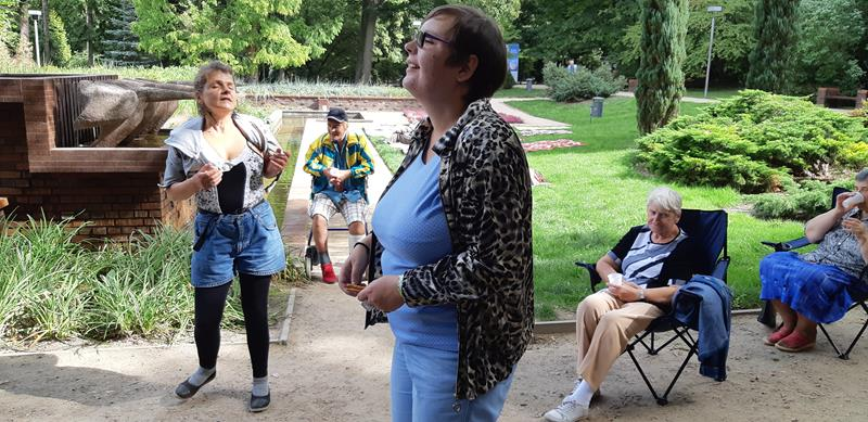 Integracyjny piknik z Mieszkańcami z DPS przy ul. Broniewskiego (9)