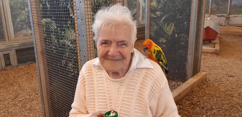 Wizyta Mieszkańców w pobliskiej Papugarni Carmen (11)