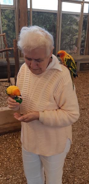 Wizyta Mieszkańców w pobliskiej Papugarni Carmen (17)