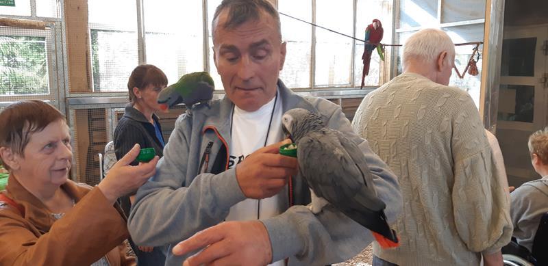 Wizyta Mieszkańców w pobliskiej Papugarni Carmen (49)
