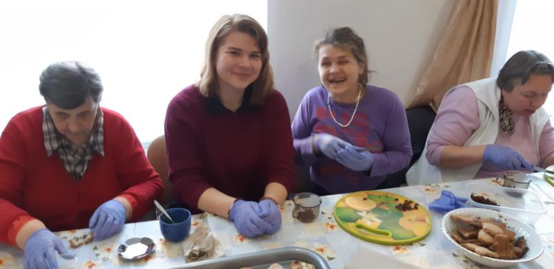 Dzień wolontariatu - wizyta młodzieży (12)