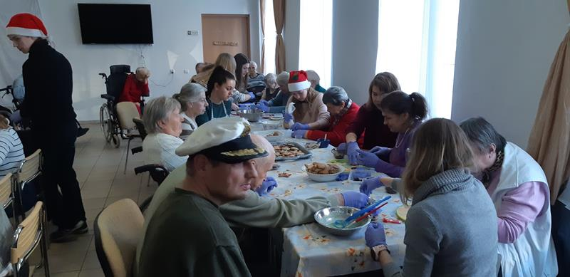 Dzień wolontariatu - wizyta młodzieży (7)